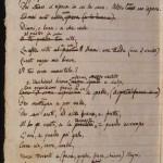 manoscritto leopardi