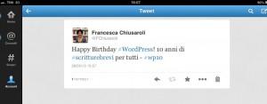 Per i 10 anni di WordPress: WP (Che carattere!)