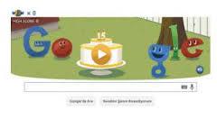 È #googlebirthday! Ancora e sempre: G, Che carattere!