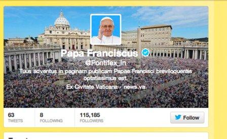 POPE-LATIN-TWITTER