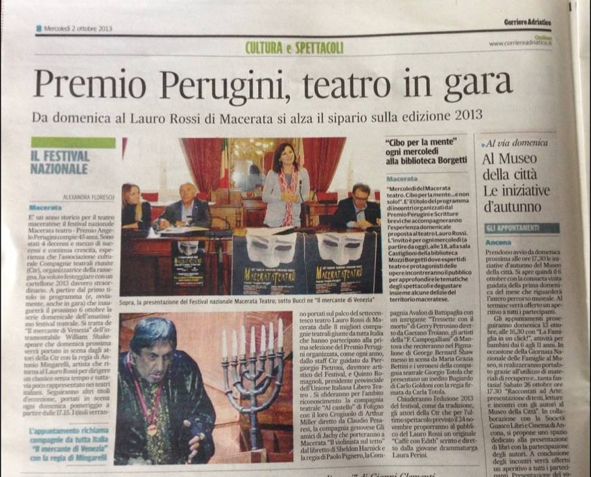 CorriereAdriaticoMacerataTeatro