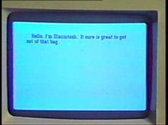 La macchina umana (Macintosh in person)