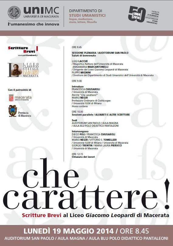 CHECARATTERE_Locandina