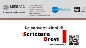 Le Conversazioni: Massimo Arcangeli, Università di Cagliari