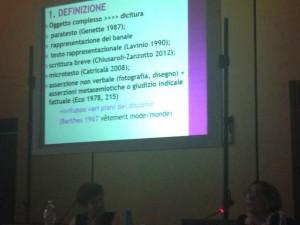A  #SILFI14 grazie a Maria Catricalà