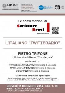 """Le Conversazioni: Pietro Trifone, Università di Roma """"Tor Vergata"""""""