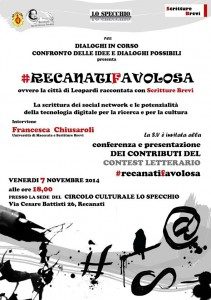 #RECANATIFAVOLOSA