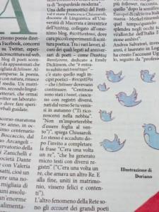 Scritture Brevi sul Fatto Quotidiano, by Elisabetta Ambrosi