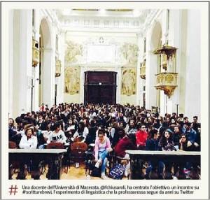 #buonenotizie! CHE CARATTERE! sul Corriere della Sera