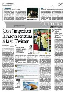 Tanti e tutti #imperfetti! Un successo di @iguanadan, con #scritturebrevi
