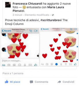 Emozione su emozione (The Emoji Column)