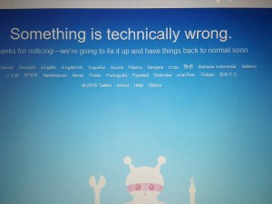 My funny #twitterdown