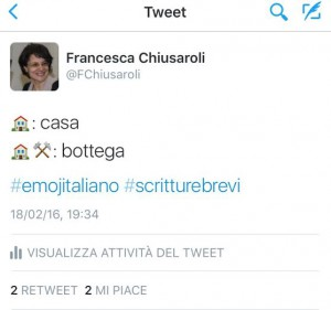 Casa e bottega (The Emoji Column, #emojitaliano)