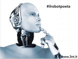 O poeta o #ilrobotpoeta