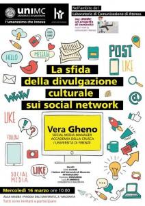 Incontro con Vera Gheno