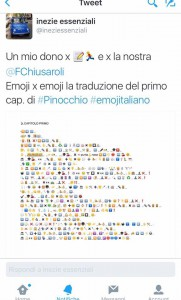 🏃 In #emojitaliano Capitolo 1 (The Emoji Column)