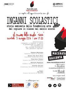 Degli inganni scolastici: il Museo della Scuola UniMC a Macerata Racconta