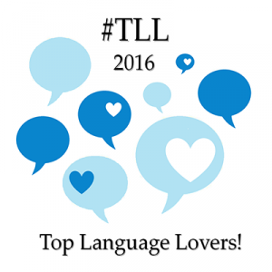 Yes, we are Language Lovers (#TLL2016)