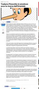 Emojitaliano e Emojitalianobot sul Mattino di Napoli (Libro delle Firme)