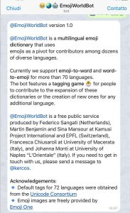 EmojiWorldBot: il racconto su Repubblica.it (Libro delle firme)