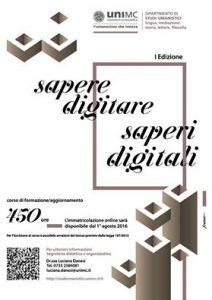 Sapere digitare – Saperi digitali