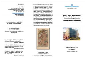 Da Wilkins a Emojitaliano: Scritture Brevi all'Università di Parma