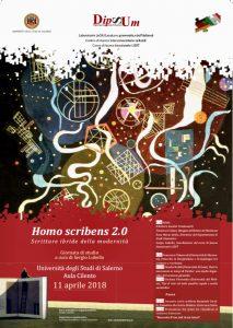 Homo scribens 2.0. Scritture ibride della modernità – Università di Salerno