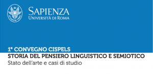 Convegno CISPELS Sapienza Università di Roma 17-19 settembre 2018