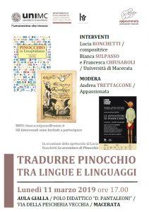 Tradurre Pinocchio tra lingue e linguaggi
