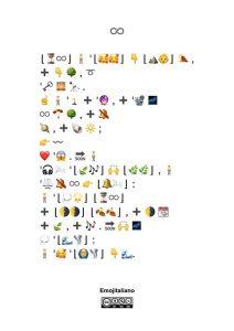 La traduzione universale: L'infinito in Emojitaliano